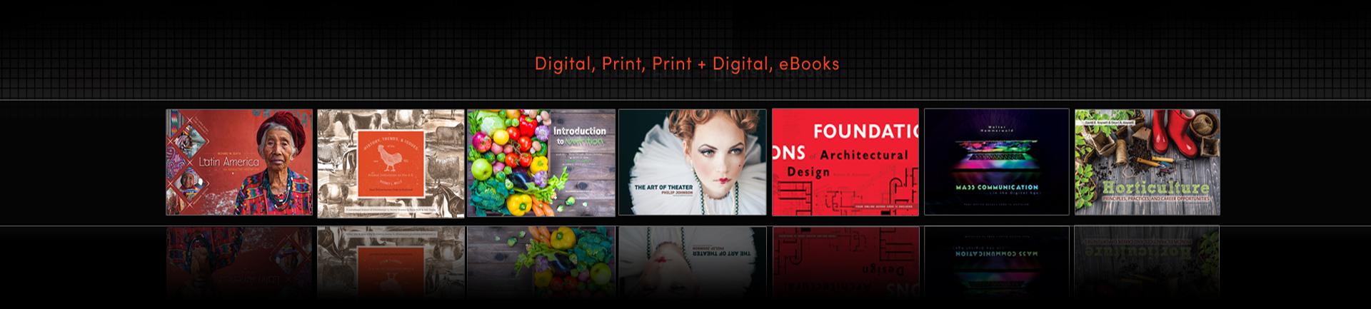 Access cards that GRL has made, digital, print, print and digital, Ebooks